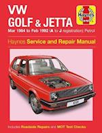VW Golf & Jetta MK 2 Petrol 84-92 (Haynes Service and Repair Manuals)