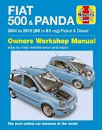Fiat 500 & Panda Petrol & Diesel 04-12 (Haynes Service and Repair Manuals)