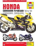Honda CBR900RR Service and Repair Manual af Anon