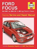 Ford Focus 01-05 Service and Repair Manual