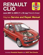 Renault Clio Service and Repair Manual (Haynes Service and Repair Manuals)