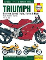 Triumph Daytona, Speed Triple Service and Repair Manual (Haynes Service and Repair Manuals)