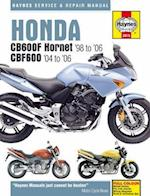 Honda CB600F Hornet Service and Repair Manual (Haynes Service and Repair Manuals)