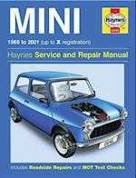 Haynes Mini 1969 to 2001 (Up to X Registration) Service and Repair Manual af John S Mead