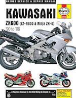 Kawasaki ZX600 (ZZ-R600 & Ninja ZX-6) 90-06 (Haynes Service and Repair Manuals)