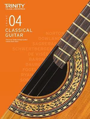 Trinity College London Classical Guitar Exam Pieces 2020-2023: Grade 4