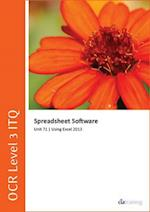 OCR Level 3 Itq - Unit 71 - Spreadsheet Software Using Microsoft Excel 2013