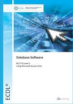 ECDL Database Software Using Access 2016 (BCS ITQ Level 2)