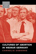 Cultures of Abortion in Weimar Germany (Monographs in German History, nr. 17)