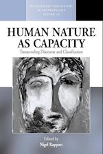 Human Nature as Capacity af Nigel Rapport