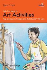 100+ Fun Ideas for Art Activities (A Brilliant Education)