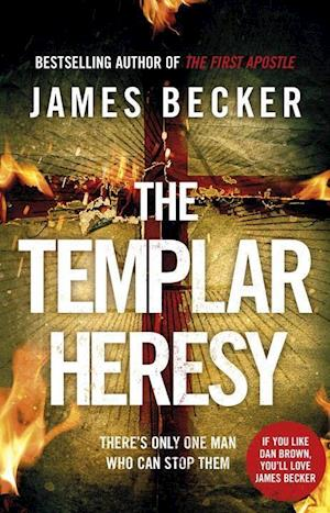 Bog, paperback The Templar Heresy af James Becker