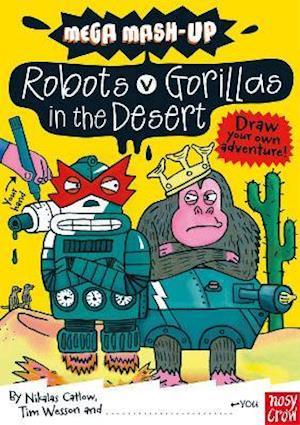 Mega Mash-Up: Robots v Gorillas in the Desert