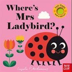 Bog, papbog Where's Mrs Ladybird? af Ingela Arrhenius