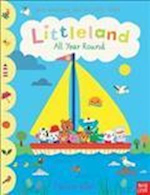 Bog, papbog Littleland: All Year Round af Nosy Crow