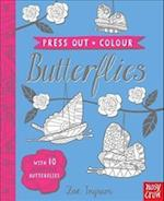 Press Out and Colour: Butterflies (Press Out and Colour)