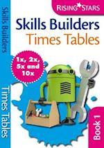 Skills Builders Times Tables 1x 2x 5x 10x (Rising Stars Skills Builders)