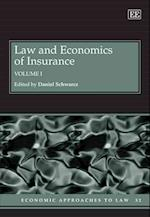 Law and Economics of Insurance (Economic Approaches to Law Series, nr. 32)