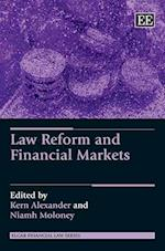 Law Reform and Financial Markets af Kern Alexander