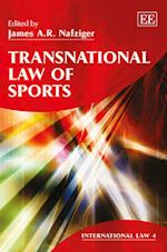 Transnational Law of Sports (International Law, nr. 4)