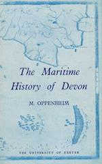 The Maritime History Of Devon af Michael Oppenheim