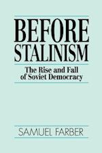 Before Stalinism