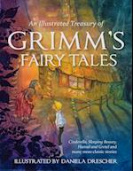 An Illustrated Treasury of Grimm's Fairy Tales af Jacob Grimm