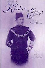 Last Khedive of Egypt