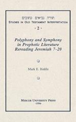 Polyphony and Symphony Vol 2 (Studies in Old Testament Interpretation, nr. 2)