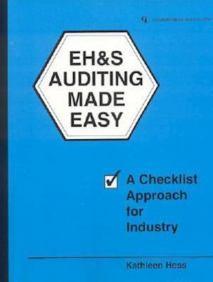 Bog, paperback Eh&s Auditing Made Easy af Kathleen Hess