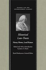 Historical Law-Tracts af Lord Kames, Henry Home