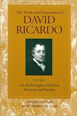 On the Principles of Political Economy and Taxation (Works and Correspondence of David Ricardo, nr. 1)