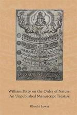 William Petty on the Order of Nature af Rhodri Lewis