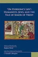 On Everyone's Lips (Medieval Renais Text Studies)