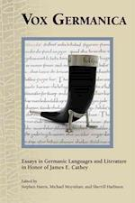Vox Germanica (MEDIEVAL AND RENAISSANCE TEXTS AND STUDIES)