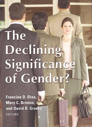 Bog, paperback Declining Significance of Gender? af Francine D Blau, Mary C Brinton, David B Grusky