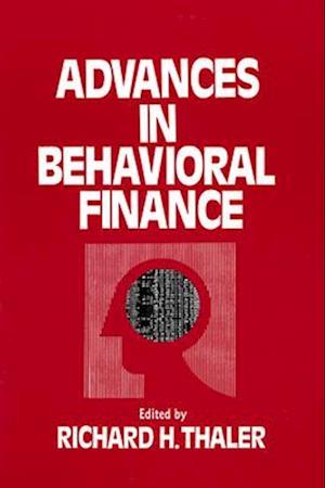 Bog paperback Advances in Behavioral Finance af Richard H Thaler