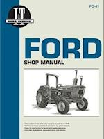 Ford Shop Manual Series 2310, 2600, 3600, 3610, 4100, 4110, 4600,  4610, 4600Su, 4610Su (Fo-41)