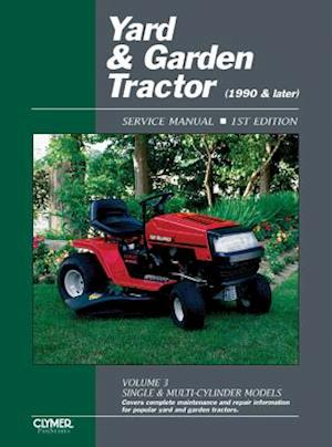 Bog, paperback Yard & Garden Tractor Service Manual- 1990 & Later, Vol. 3 af Penton