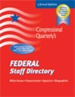 Federal Staff Directory 2008/Fall (Federal Staff Directory Print Series)