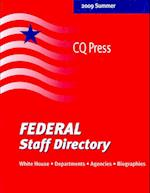 Federal Staff Directory 2009/Summer (Federal Staff Directory Print Series)