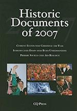 Historic Documents of 2007 (Historic Documents of, nr. 36)