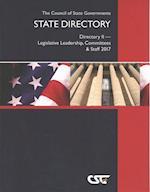 State Directory 2017 (CSG STATE DIRECTORY DIRECTORY II-STATE LEGISLATIVE LEADERSHIP, COMMITTEES AND STAFF)