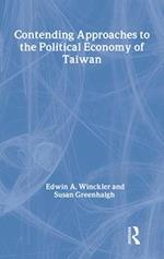 Contending Approaches to the Political Economy of Taiwan af Susan Greenhalgh, Edwin A. Winckler