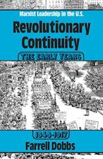 Revolutionary Continuity-Marxist Leadership in the U.S af Farrell Dobbs
