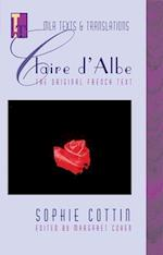 Claire D'Albe (Mla Texts and Translations, 13)