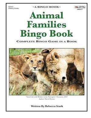 Animal Families Bingo Book