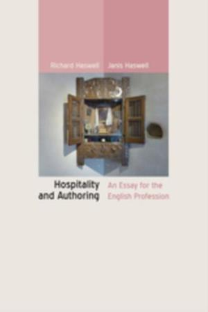 Hospitality and Authoring af Janis Haswell, RICHARD HASWELL
