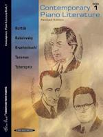 Contemporary Piano Literature, Bk 1 (Frances Clark Library for Piano Students, nr. 1)