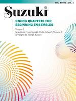 String Quartets for Beginning Ensembles, Vol 3